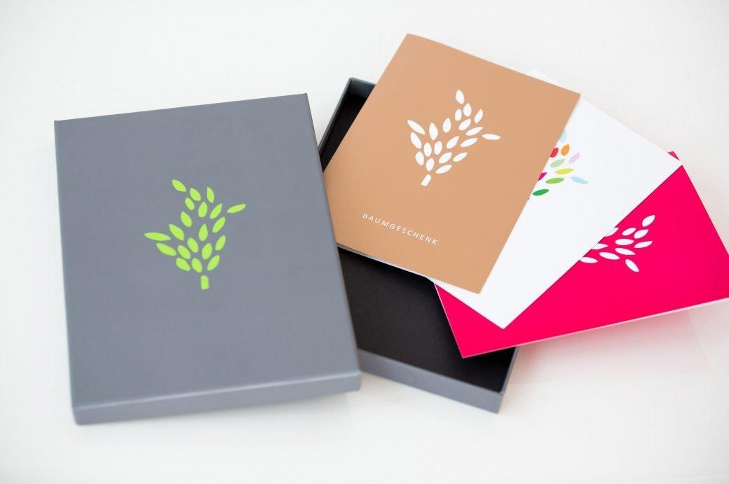Baumgeschenke Geschenkbox