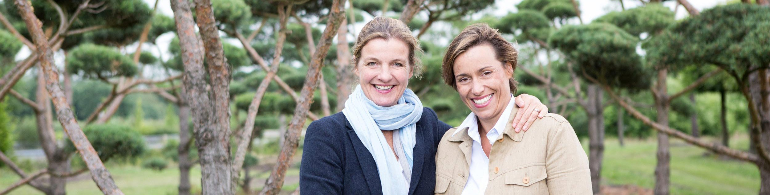 International Tree Broker Katharina von Ehren und Maike Rohde