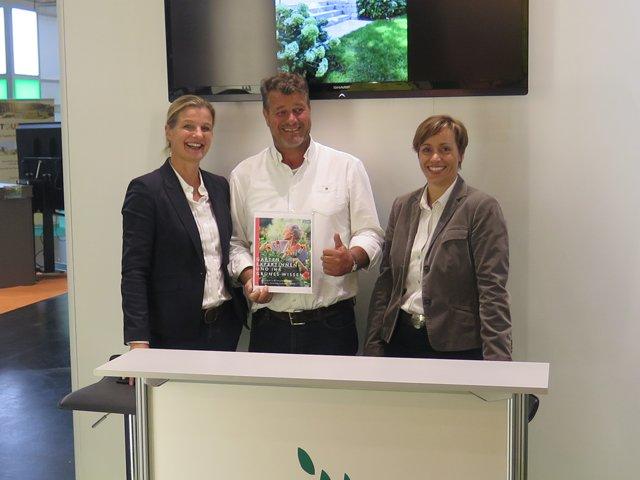 Fuchs Baut Gärten galabau 2016 ein großes messevergnü international tree broker