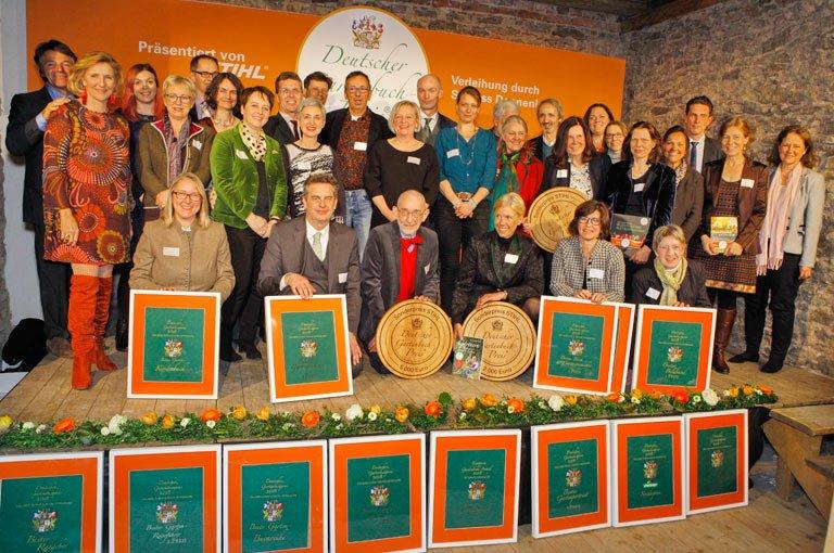 Sieger des Deutschen Gartenbuchpreises 2018