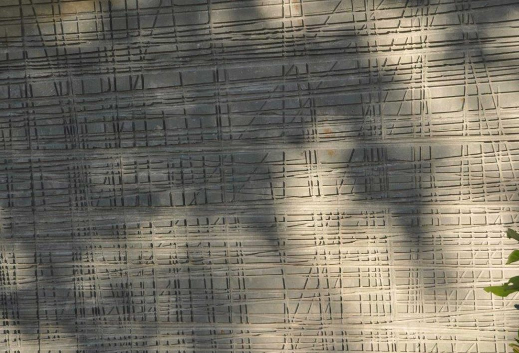 Detail Steinmauer